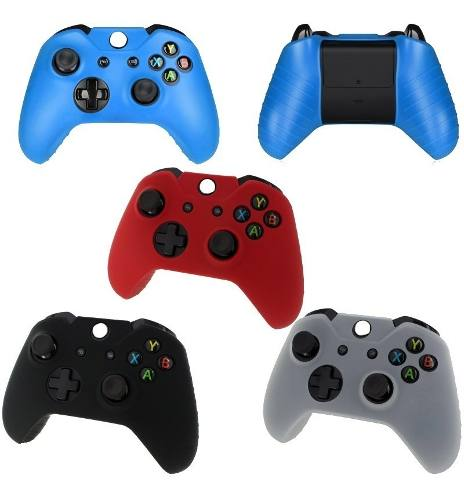 Funda Protectora De Silicon Para Control De Xbox One + Gomas