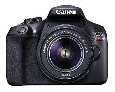 Kit De Cámara Réflex Digital Canon Eos Rebel T6 Con Lente