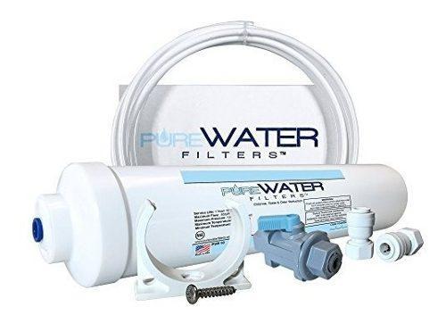 Kit De Filtro De Agua En Linea Para Refrigeradores