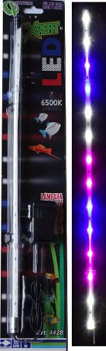 Lampara Led Acuario Pecera Peces 55 Cm Sumergible Y Externa