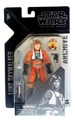 Luke Skywalker X-wing Pilot Star Wars Black Series Archive