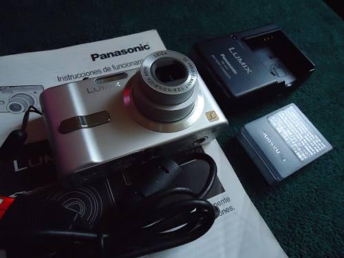 Lumix Panasonic Camara Digital 7.2 Mp Aluminio Japan Leica