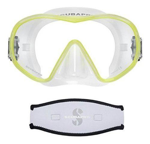 Mascara De Buceo Scubapro Solo Scuba Snorkeling, Transparen