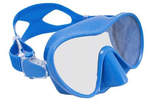 Mascara Visor Modelo Hercules Bonassi Buceo Y Apnea - Azul