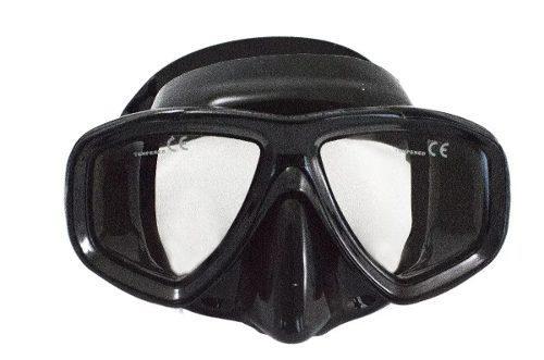 Mascara Visor Modelo Juno Bonassi Buceo Y Apnea - Negro