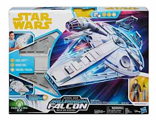 Nave Halcón Milenario Star Wars Force Link 2.0 Run Hasbro
