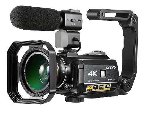 Ordro Ac3 4k Wifi Cámara De Vídeo Digital Videocámara