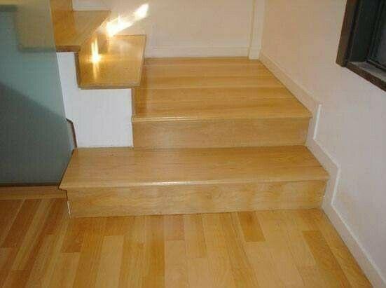 Pisos de madera: Duela de encino americano $750 m2