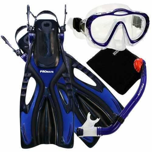 Promate 4570, Bu, Sm, Junior Snorkeling Mascara De Buceo Mas