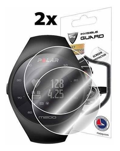 Protector De Pantalla Para Polar M200 Fitness Tracker Reloj