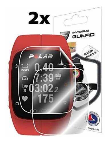 Protector De Pantalla Para Polar M400 Fitness Tracker Reloj