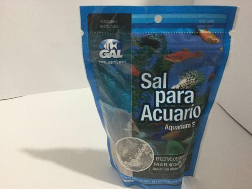 Sal Para Acuario De Agua Dulce 300 Gramos