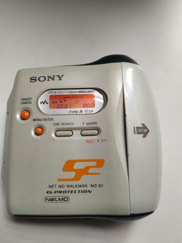 Sony Net Md Walkman Modelo Mz-s1 Walkman