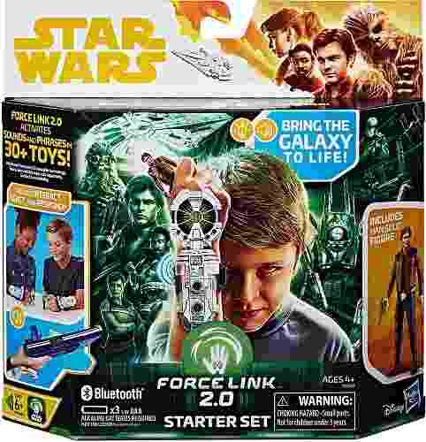 Star Wars Force Link 2.0 Kit De Inicio Bluetooth Hasbro