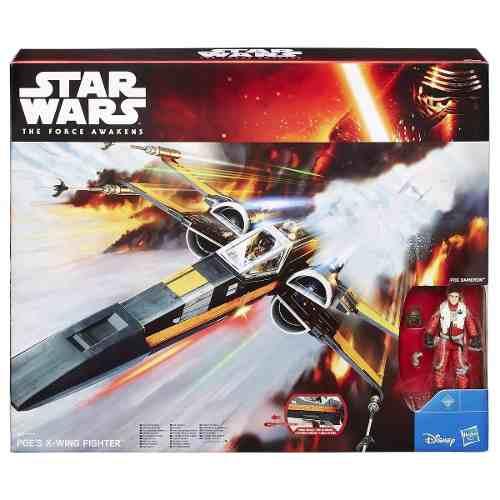 Star Wars Poe's X Wing Fighter Hasbro Nuevo De Colección