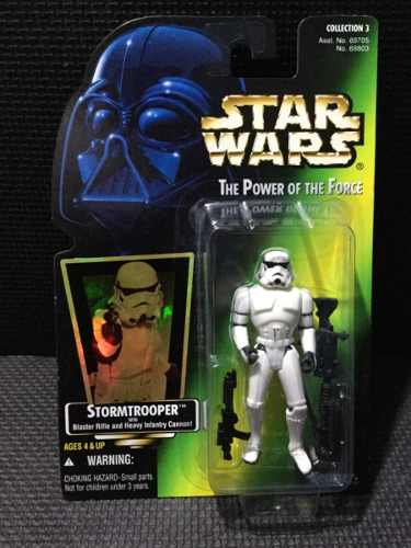Star Wars Power Of The Force Gold Stormtrooper