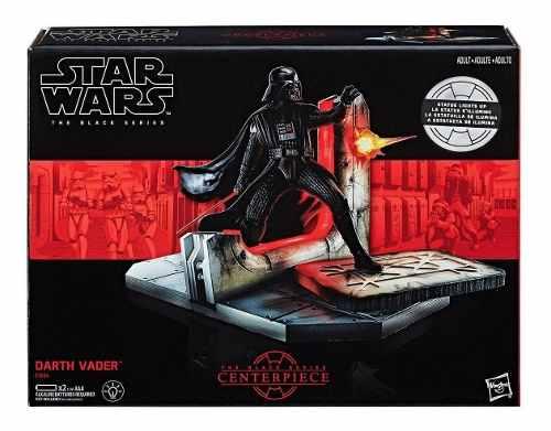 Star Wars Serie Negra Estatuilla De Darth Vader Con Luz