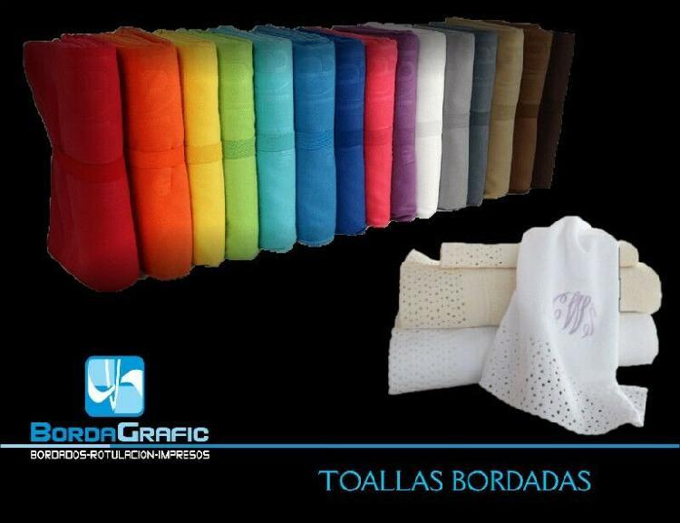 TOALLAS - Anuncio publicado por Bordados y Publicidad