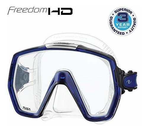Tusa Freedom Hd Mascara De Buceo M-1001-cbl - Azul Cobalto