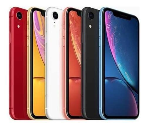iPhone Xr 64 Gb Azul Libre Nuevo Sellado Msi