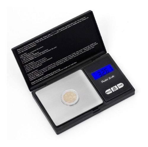 Bascula Digital Gramera Joyeria 500x0.1 Mini Portatil Gramo