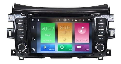Estereo Nissan Np300 Frontier Android Wifi Navegación Gps