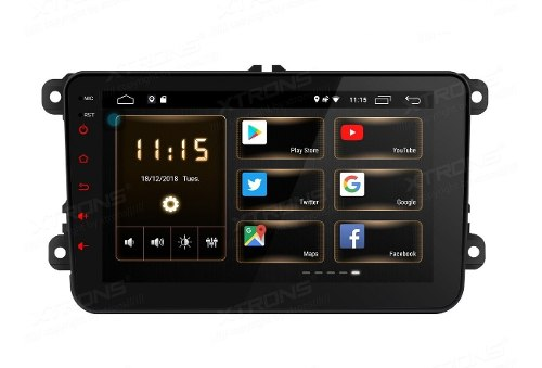 Estereo Vw Android 9 Pulgadas Mirror Link Wifi Gps Bluetooth
