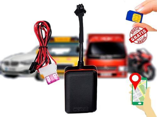 Gps Tracker Antirrobo Moto Auto Rastreador + App