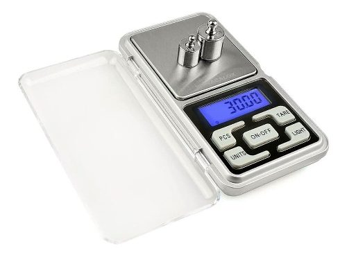 Mini Bascula Digital Gramera / Joyeria 500gr 0.1gr