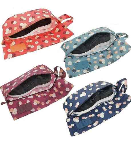 Remate 5 Bolsas Para Zapatos Con Diseños Almacenaje De