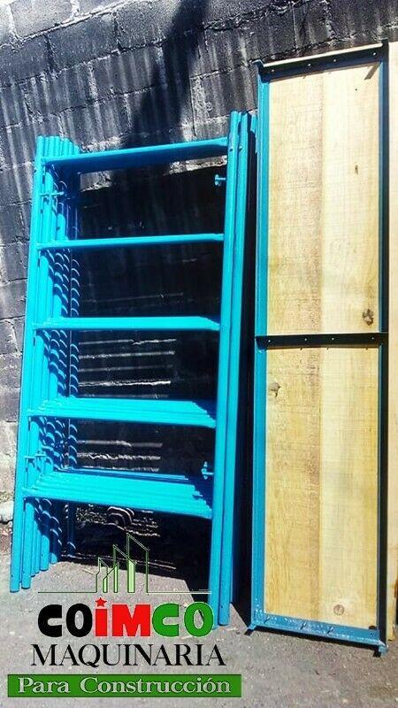 Venta de Plataformas o tablones de madera para andamio