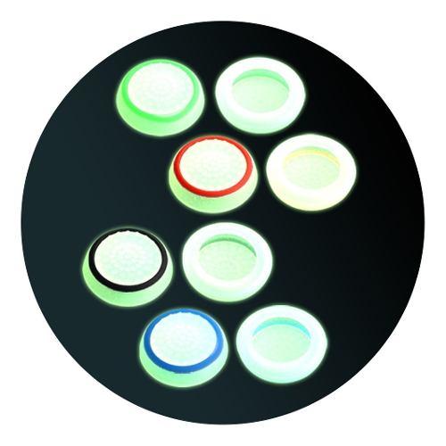 10 Gomas Fosforescente Grips Palanca Silicon Ps4 Xbox 5pares
