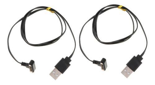 2x Cable De Cargador Carga Magnético Para Reloj