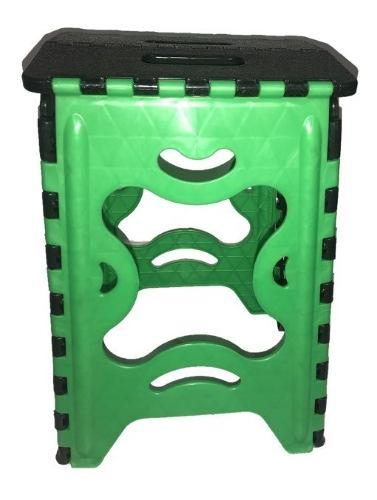 Banco Plegable De Plastico Colores Varios 120 Kg 8 Unidades