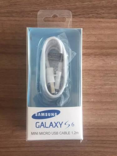 Cable Usb Original Samsung V8 Carga Rapida J3 J5 J7 S6 S7 A7