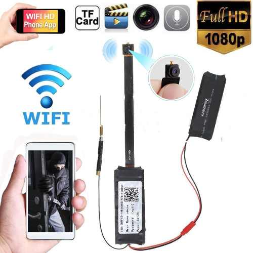 Camara De Seguridad Espia Wifi Con Bateria Incluida p