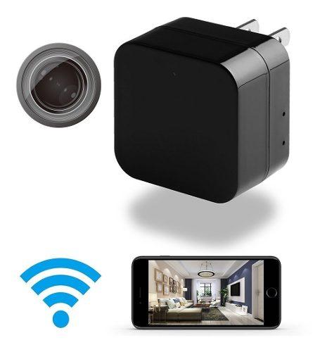 Cámara De Seguridad Espía Wifi Ip En Forma De Cargador Usb