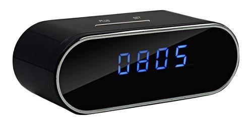 Cámara Espía Wifi En Forma De Reloj De Mesa p Ip