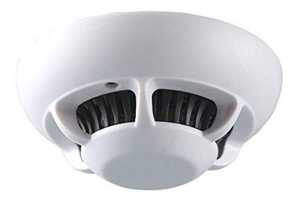 Mengshen® Detector De Humo Wifi Hd Espía Oculta Cámara