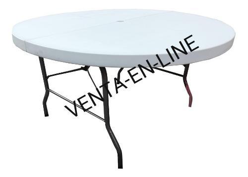 Mesa Redonda 150cm Tipo Lifetime Plastico Soplado!!!