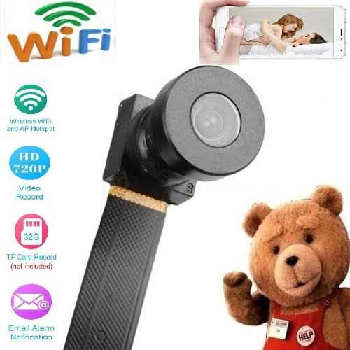 Mini Camara Espia Wifi Full Hd p Para Android E iPhone