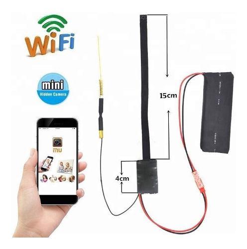 Mini Camara Espia Wifi Oculta Alta Definicion Vigilancia