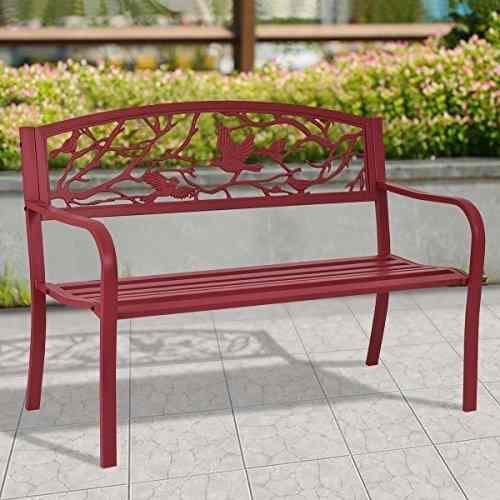 Nuevo Mtn-g Patio Garden Bench Park Yard Muebles De Exterio