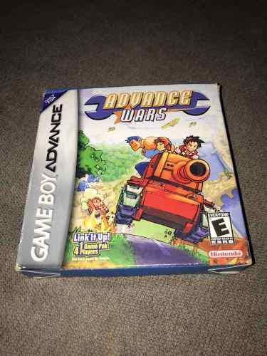 Advance Wars Para Game Boy Advance!!! Nintendo Gba Completo