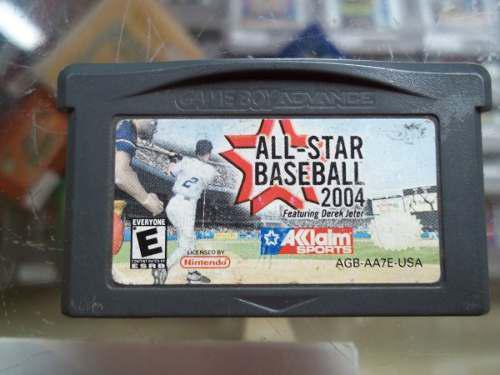 All-star Baseball 2004 Game Boy Advance Nintendo Gba