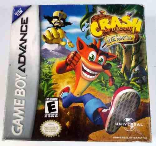 Crash Bandicoot Huge Adventure Game Boy Advance Gba Retromex