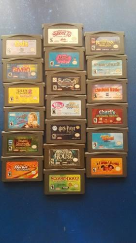 Envio Gratis Lote De 19 Juegos Gameboy Advance Disney Gba