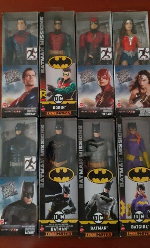 FIGURAS DE ACCION DC COMICS $960