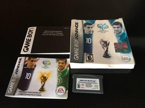 Fifa World Cup 2006 Gameboy Advance Original Completo.