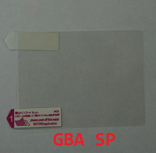 Film Mica Transparente Pantalla Game Boy Advance Sp Gba Sp